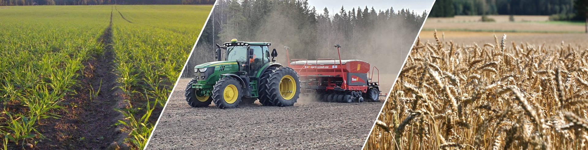 Viljatavastia, viljelijöiden asialla, viljelijöiden omistama